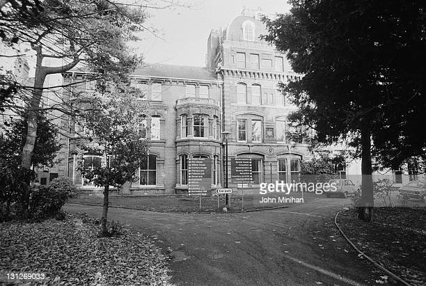 Normansfield Hospital Teddington Middlesex 12th February 1979 The hospital was founded by British doctor John Langdon Down in 1868 for patients with...