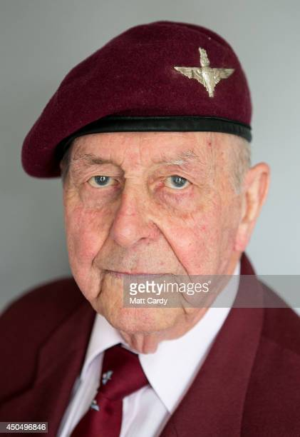 Normany veteran 90yearold Geoff Pattinson poses for a photograph at his home on April 2 2014 in London England On DDay June 6 1944 he set out in one...