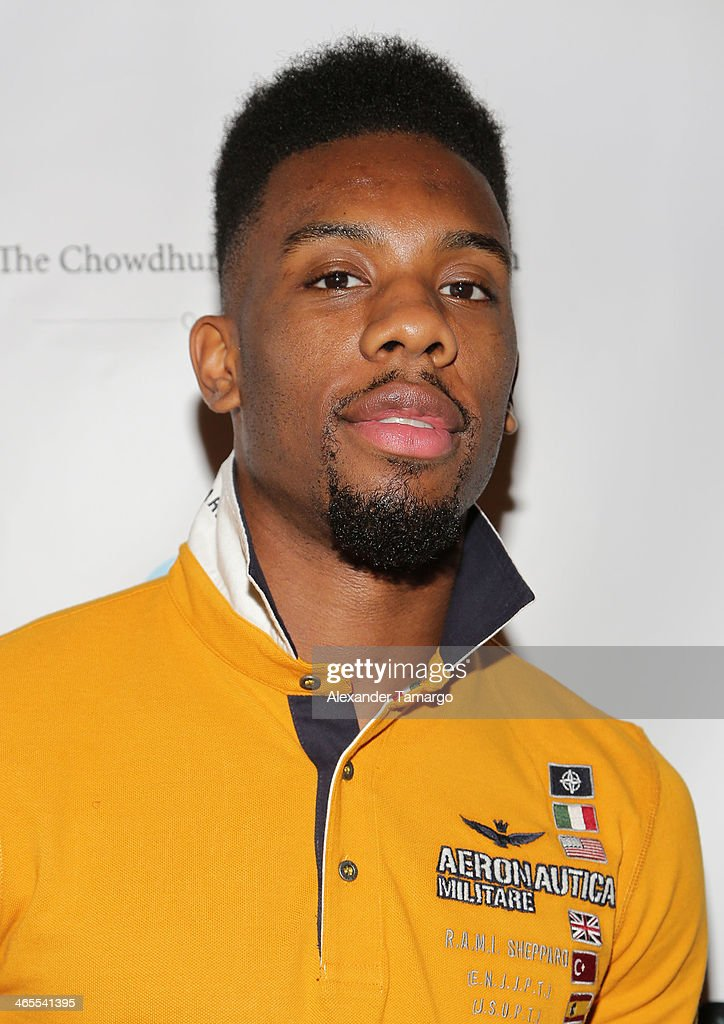 <a gi-track='captionPersonalityLinkClicked' href=/galleries/search?phrase=Norris+Cole&family=editorial&specificpeople=5770147 ng-click='$event.stopPropagation()'>Norris Cole</a> arrives at South Beach Battioke 2014 at Fillmore Miami Beach on January 27, 2014 in Miami Beach, Florida.