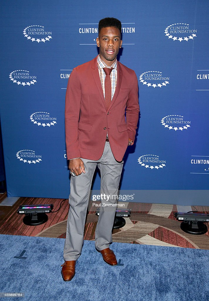 Norris Cole attends the 8th Annual Clinton Global Citizen Awards And CGCA Blue Carpet at Sheraton New York Times Square on September 21 2014 in New...