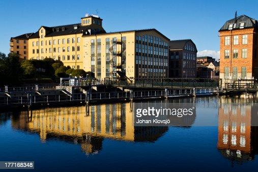 Norrköping old Industries