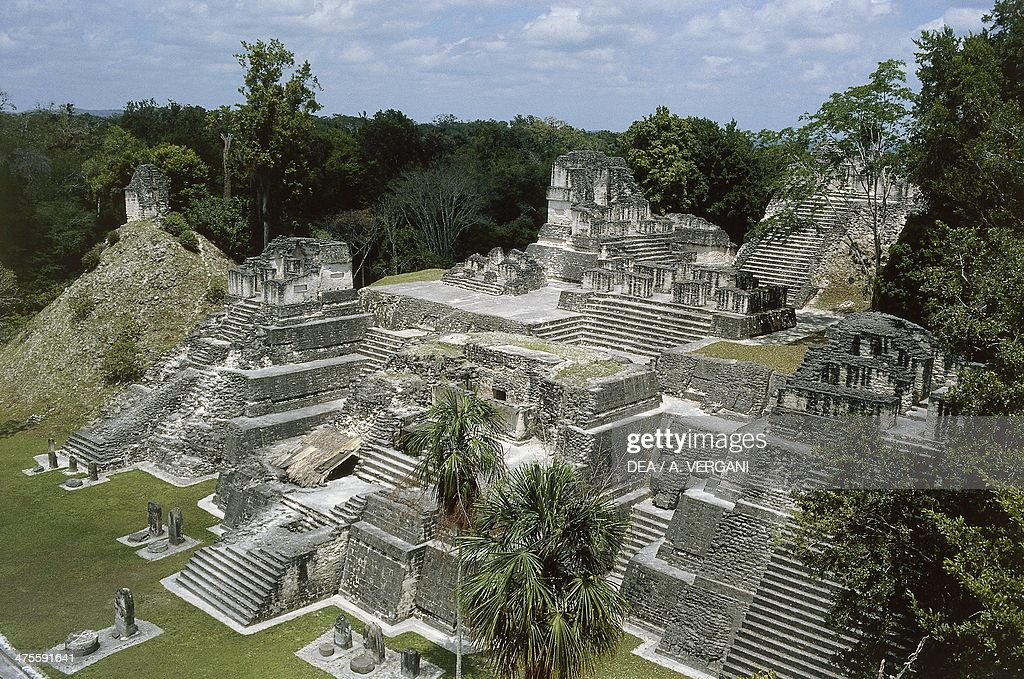 North Acropolis Archaeological Site Of Tikal Tikal National Park Pictures Getty Images