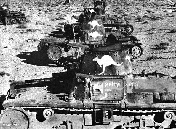 North Africa Second World War North African Campaign 1940 italian tanks captured in Libya