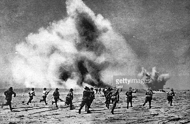 North African Campaign Second World War 1940 Italian assault