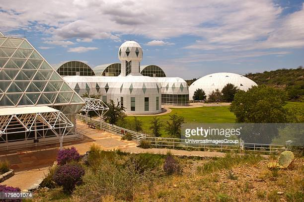 North America Arizona Oracle Biosphere 2 Rainforest Habitat and West Lung