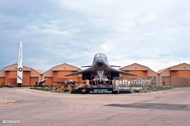 North America USA South Dakota Box Elder Ellsworth Air Force Base Air Space Museum B1B Lancer Bomber and ICBM MinutemanII