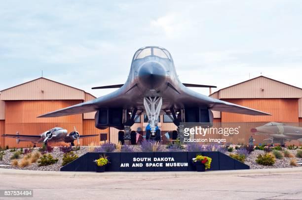 North America USA South Dakota Box Elder Ellsworth Air Force Base Air Space Museum B1B Lancer Bomber