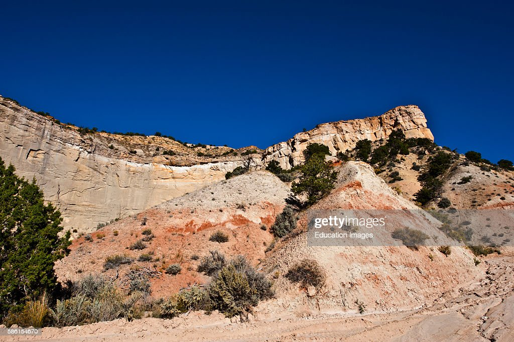 North America USA Utah Grand Staircase Eccalante National Monument Colorful Buttes