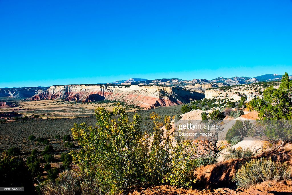 North America USA Utah Grand Staircase Escalante National Monument Kodachrome Basin State Park Little Dry Valley