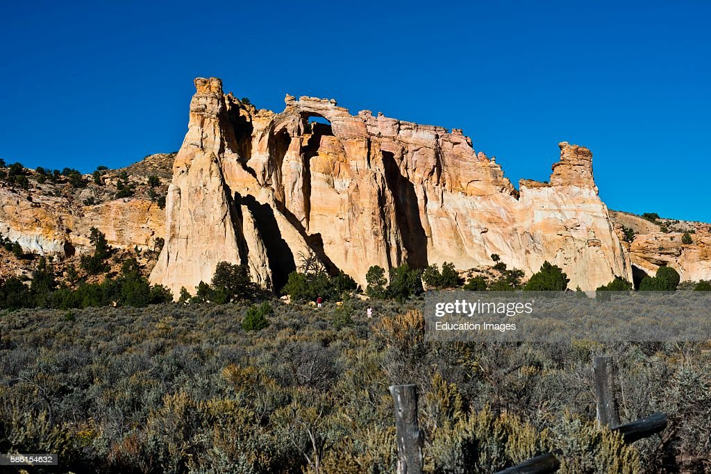 North America USA Utah Henrieville Grand Staircase Escalante National Monument Grosvenor Arch