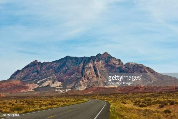 North America USA Utah Henry Mountains from SR 276 Mount Ellsworth