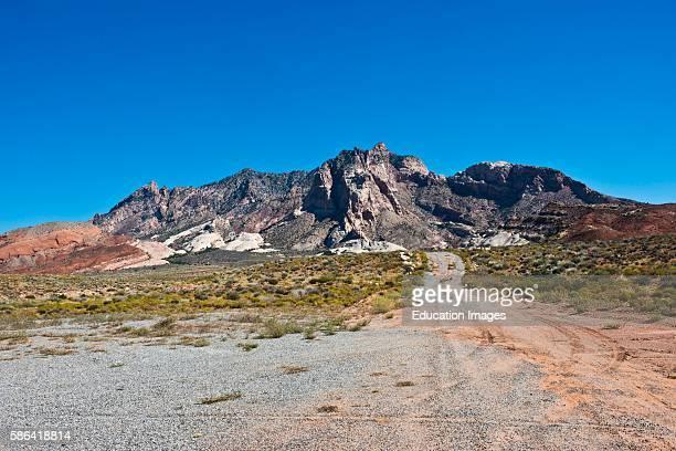 North America USA Utah Henry Mountains Mount Ellsworth
