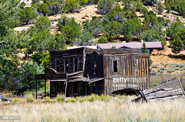 North America USA Utah Kanab Johnson Canyon abandoned Gunsmoke movie set