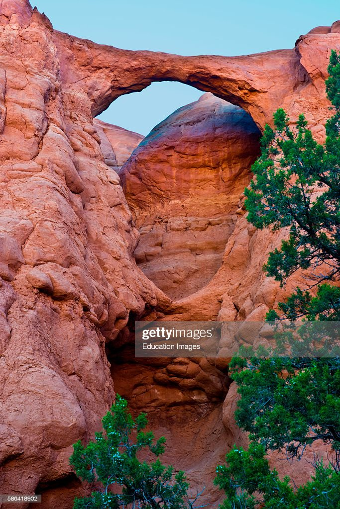 North America USA Utah Kodachrome Basin State Park Shakespeare Arch