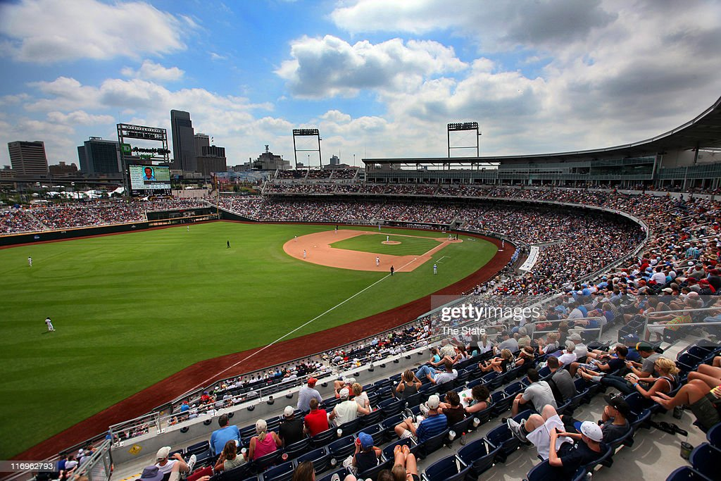 North Carolina and Vanderbilt square off in the opening game of the 2011 College World Series at TD Ameritrade Park in Omaha Nebraska Saturday June...