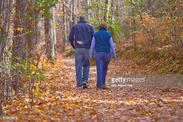 North Carolina fall at Hanging Rock State Park
