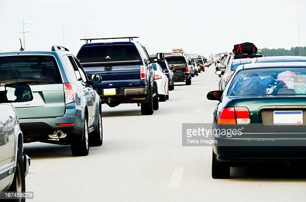 USA, North Carolina, Nags Head, Cars in traffic jam