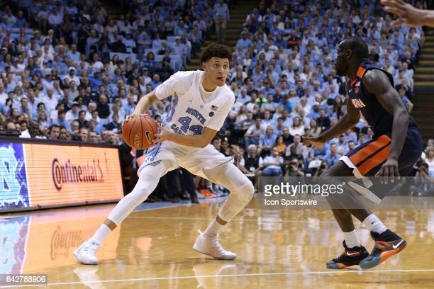 North Carolina's Justin Jackson and Virginia's Marial Shayok The University of North Carolina Tar Heels hosted the University of Virginia Cavaliers...
