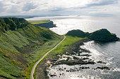 The North Causeway Coast in Northern Ireland