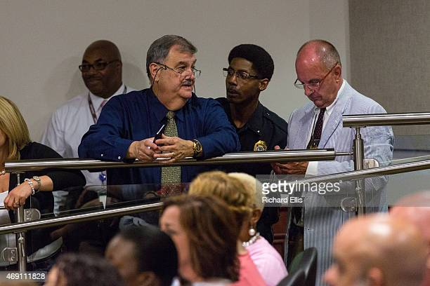 North Charleston Police Chief Eddie Driggers speaks before a City Council meeting on April 9 2015 in North Charleston South Carolina The City Council...