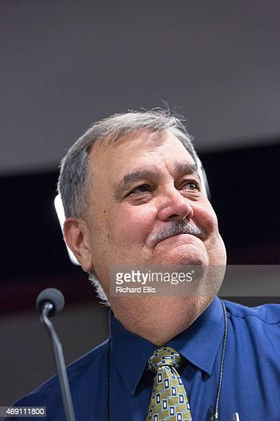 North Charleston Police Chief Eddie Driggers speaks during a City Council meeting on April 9 2015 in North Charleston South Carolina The City Council...