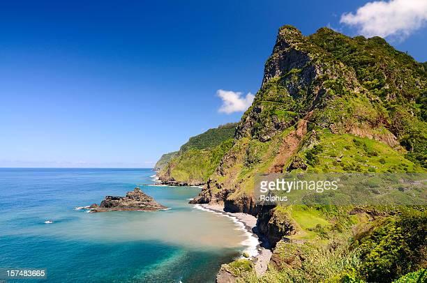 Nordküste von Madeira nahe Seixal Frühling