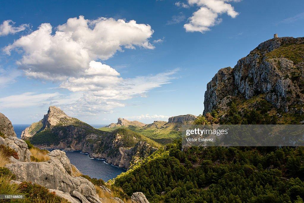 North coast of Mallorca : Stock Photo