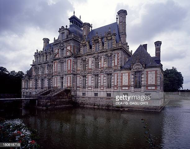 North facade Chateau de Beaumesnil France 17th century