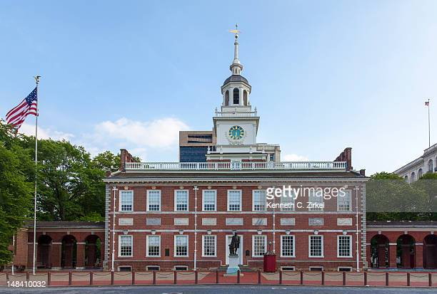 North facade of Independence Hall