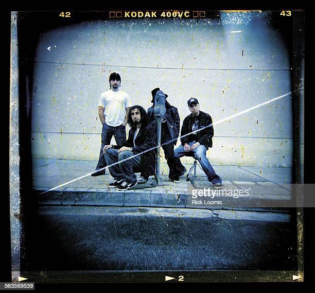 North Hollywood Ca––Members of the band System of a Down are John Dolmayan Serj Tankian Daron Malakian and Shavo Odadjian The metal rock band will...
