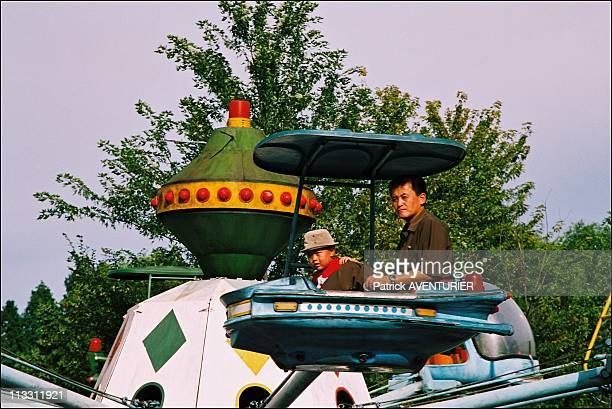 North Korea A Journey Into The Country Of Forbidden Photographs On August 2005 In Pyongyang North Korea Here North Korean Families Coming To Have A...