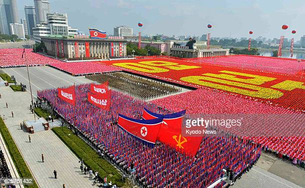 PYONGYANG North Korea North Korea holds a parade of militia forces at Kim Il Sung Square in Pyongyang on Sept 9 to mark the 65th anniversary of the...