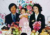North Korea Photo apparently shows Megumi Yokota who was abducted from Japan by North Korea Kim Young Nam a South Korean abductee who is believed to...