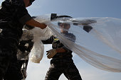 North Korean defectors now living in South Korea prepare to release balloons carrying propaganda leaflets denouncing recent North Korea's nuclear...