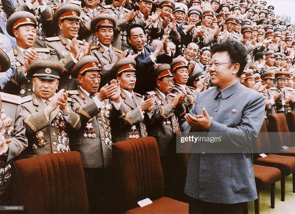 North Korean leader Kim JongIl meets with Korean People's Army personel in September 1988 file photo Kim JongIl was named as the General Secretary of...