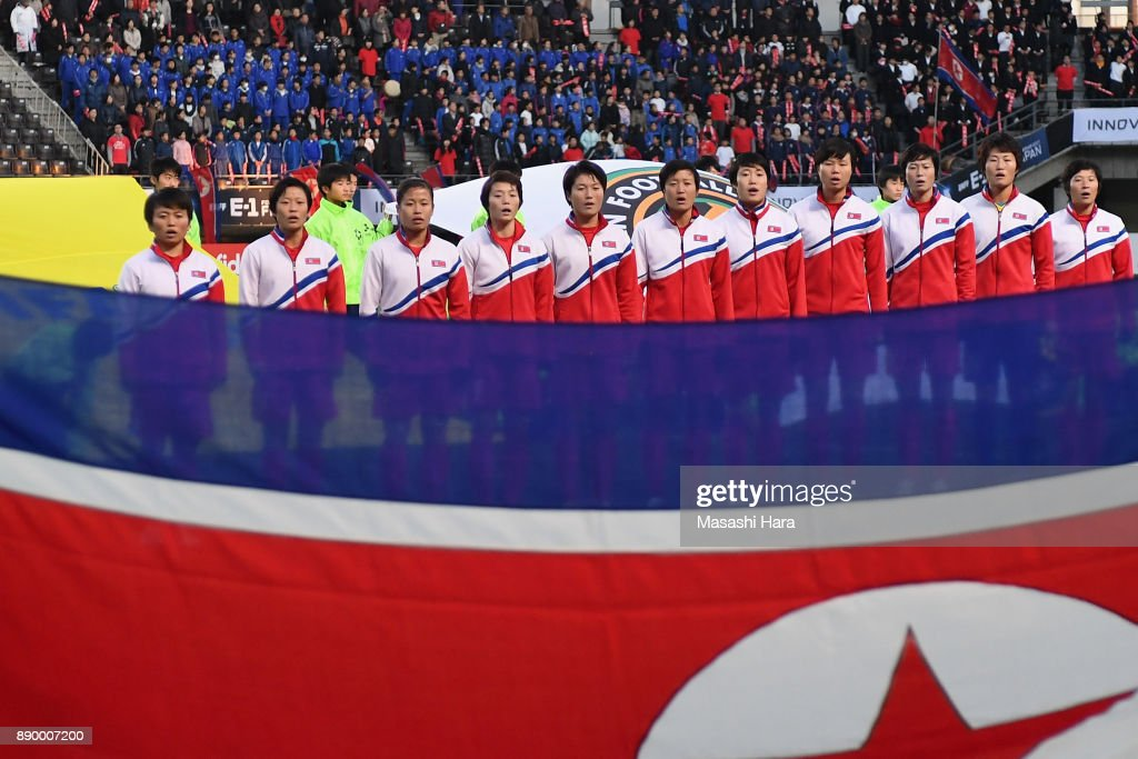North Korea v South Korea - EAFF E-1 Women's Football Championship