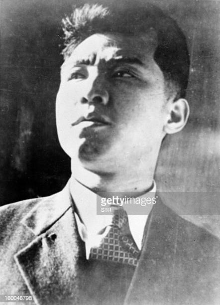 North Korean President Kim Il Sung shown in file photo dated 10 July 1950
