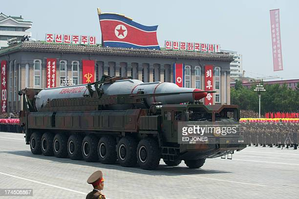 Image result for north korean missiles getty images
