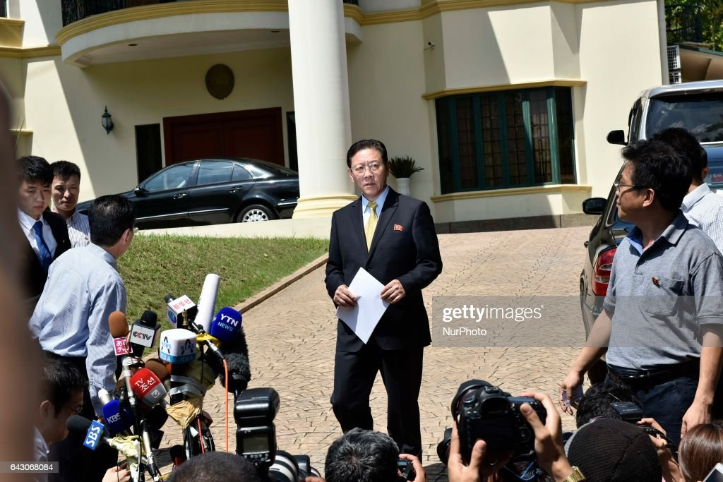 Image result for North Korean Ambassador to Malaysia