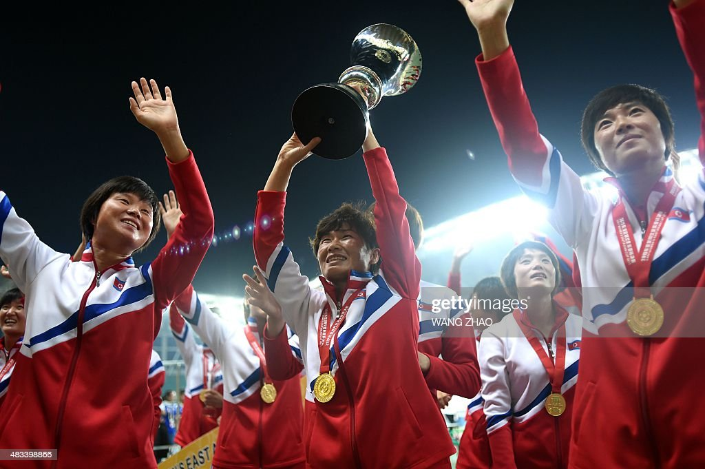 North Korean women's football crew draws South in Rio qualifiers