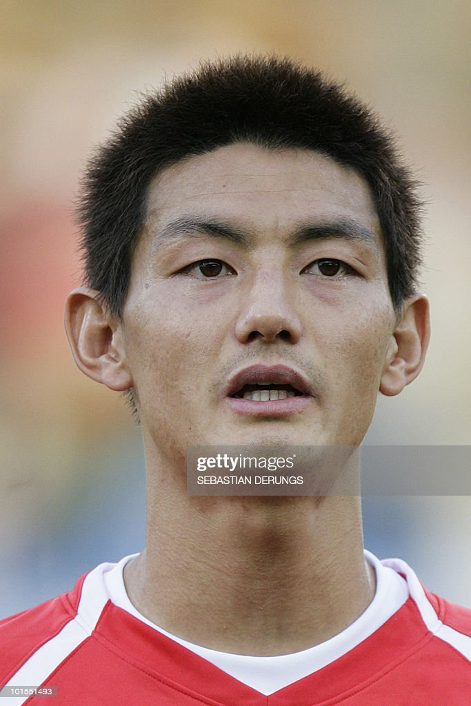 North Korea's Yong Hak An is seen before a friendly football match against Greece in Altach on May 25, 2010 ahead of their participation to the FIFA World Cup 2010 in South Africa.