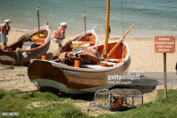 North landing, UK, Fishing boats