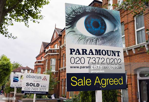 North London property sale advertising