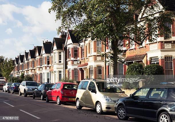 Nord di Londra strada residenziale