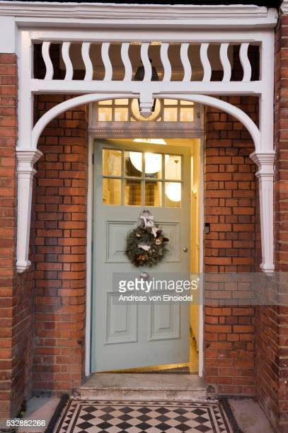 North London Victorian conversion decorated for Christmas