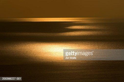 North Pacific Ocean at Sunset, Honshu, Japan