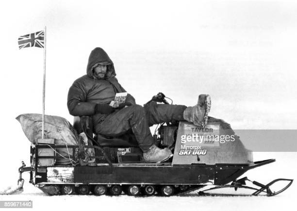 On Sunday April 11 Sir Ranulph TwisletonWykehamFiennes and his companion Charles Burton stood on the North Pole and enjoyed a brief rest in their...