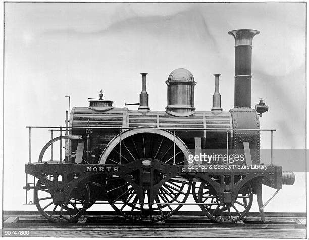 North Star locomotive replica 1837 North Star locomotive replica 1837