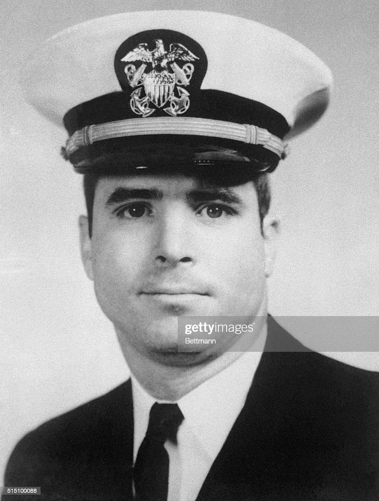 North Vietnamese claimed to have shot down and captured US Navy flier Lt Commander John Sydney McCain shown in file photo son of Adm John S McCain Jr...