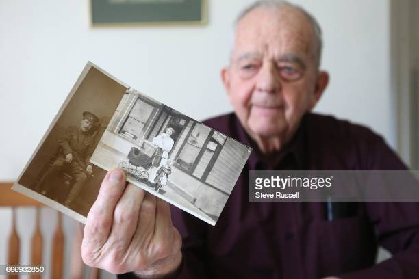 TORONTO ON APRIL 3 North York resident Bob Chisholm has has letters written to his motherinlaw from a friend who fought at Vimy Ridge A couple of...
